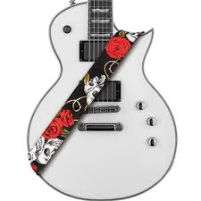 Amumu Skull Rose Guitar